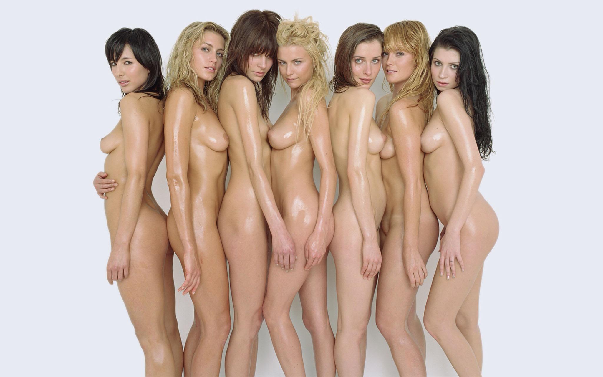 Видео много голых красоток